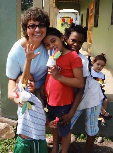 Ana Reid in Honduras