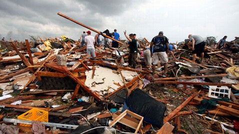 Relief and Prayer for the Victims of the Oklahoma Tornadoes