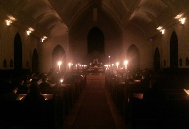 The Great Easter Vigil. All Saints, Amesbury.