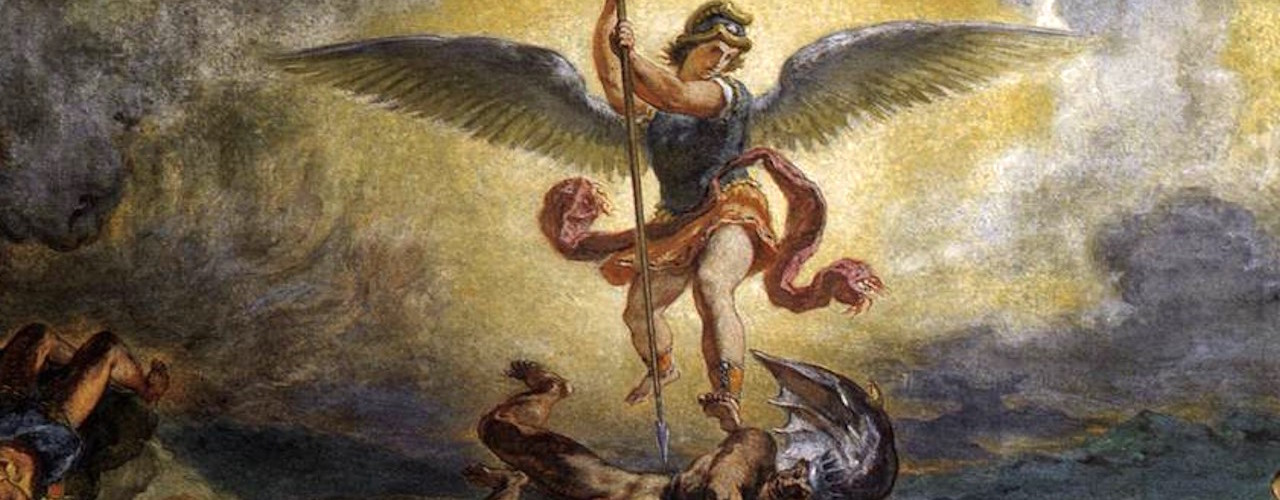 Michael and Satan