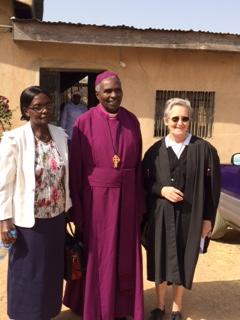 Mama Josephine, Bp. Joseph, and Susan
