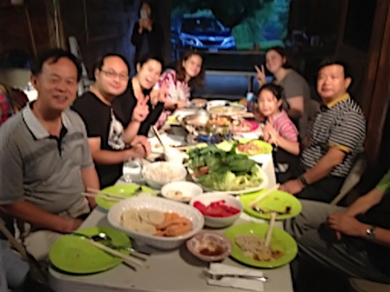 An amazing Chinese dinner with new friends from the Golden Lampstand.